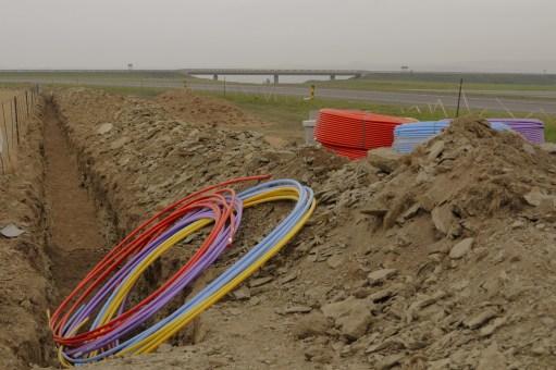 5000 km of fibre-optic network - los 30 megas de la agenda digital europea