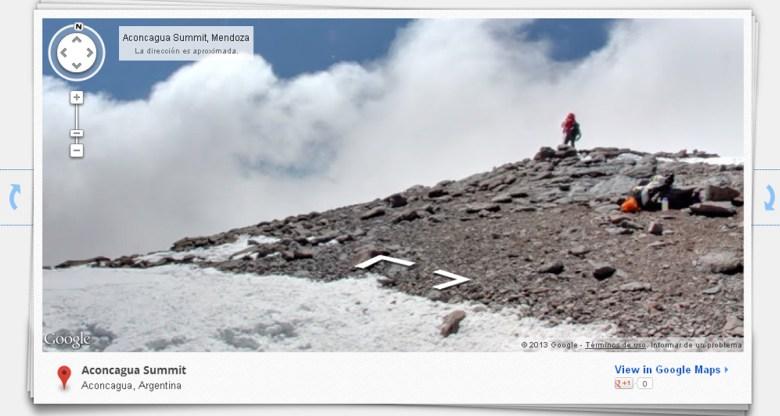 Google Maps llega al Everest y otros puntos elevados del planeta argentina