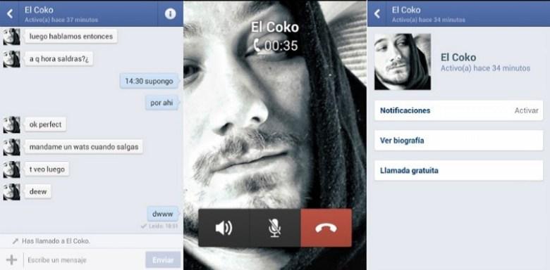 Llamadas gratuitas con Facebook Messenger España