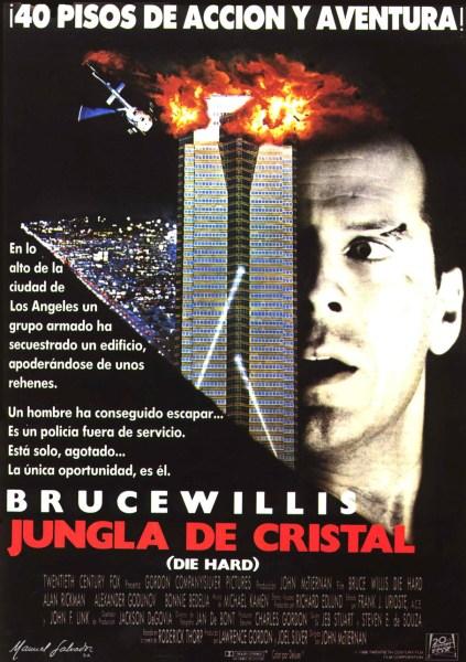 Cartel español de Die Hard