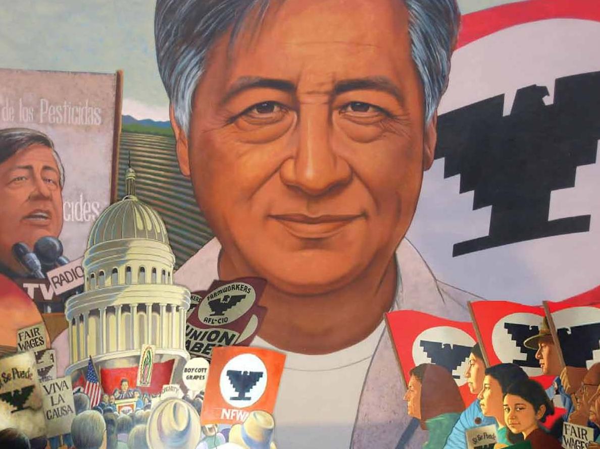 César Chávez mural