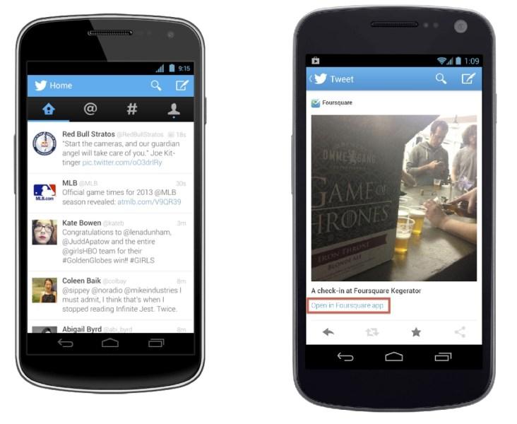 Actualización de Twitter para Android