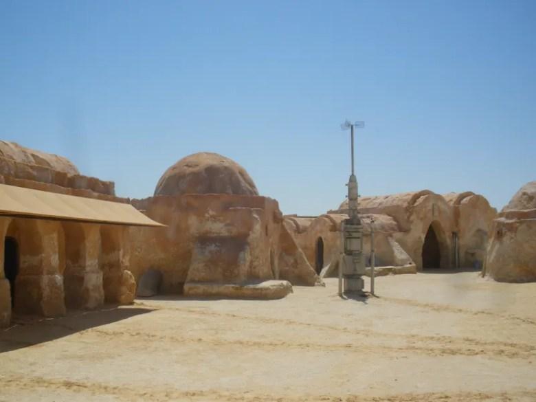 Rodaje de Tatooine Star Wars Episodio I