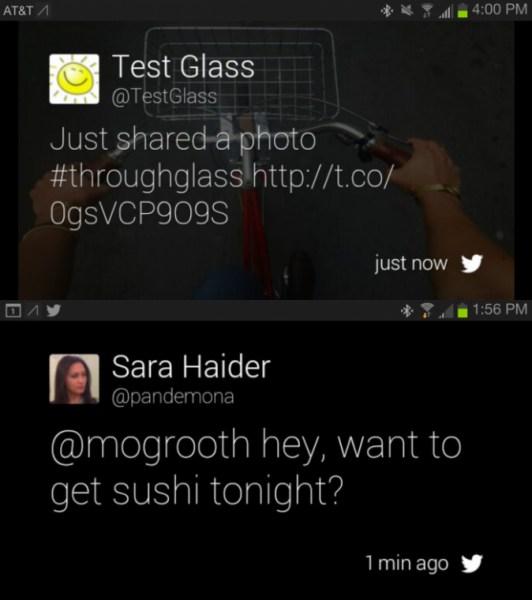 Sin Twitter para Glass