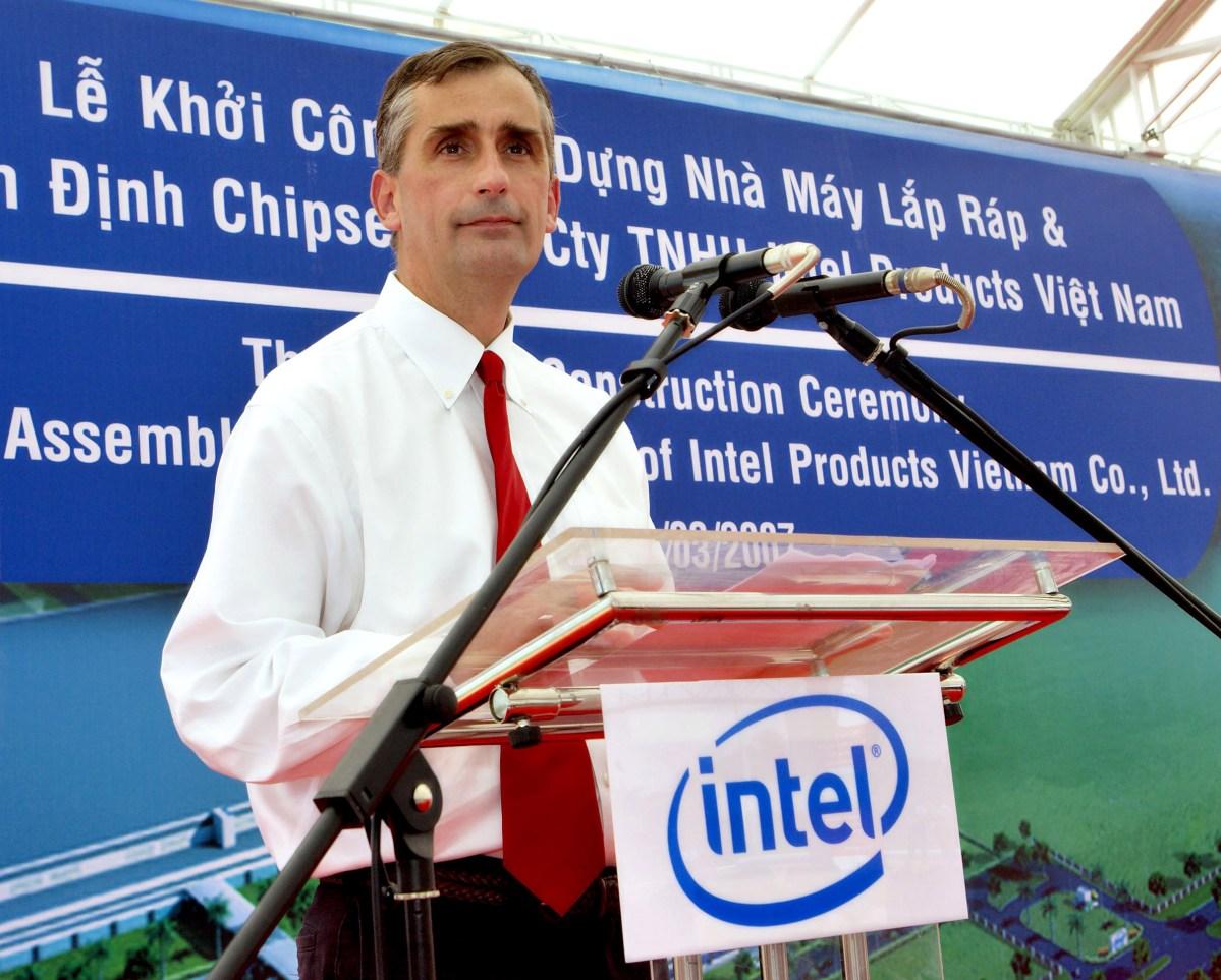 Brian Krzanich, nuevo CEO de Intel