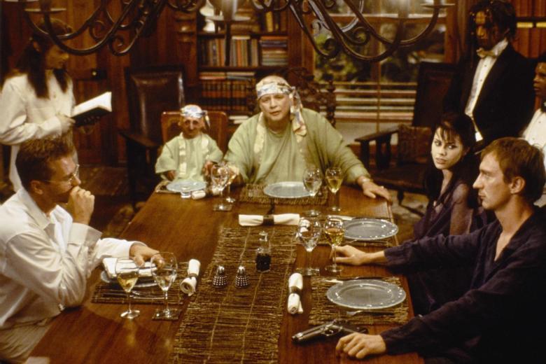 Marlon Brando como el doctor Moreau