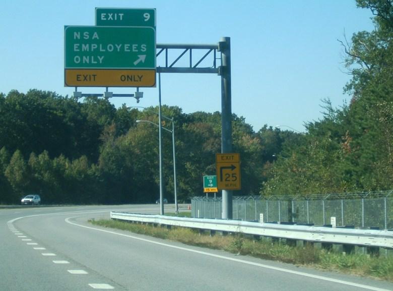 Salida carretera NSA