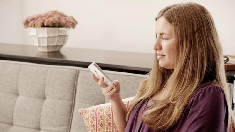 controlar el iPhone y iPad con la cabeza