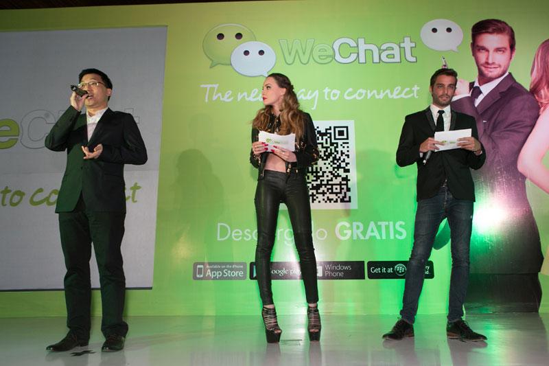 WeChat Launch Party