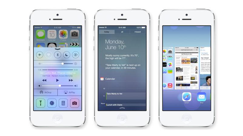 iOS7 iPhones