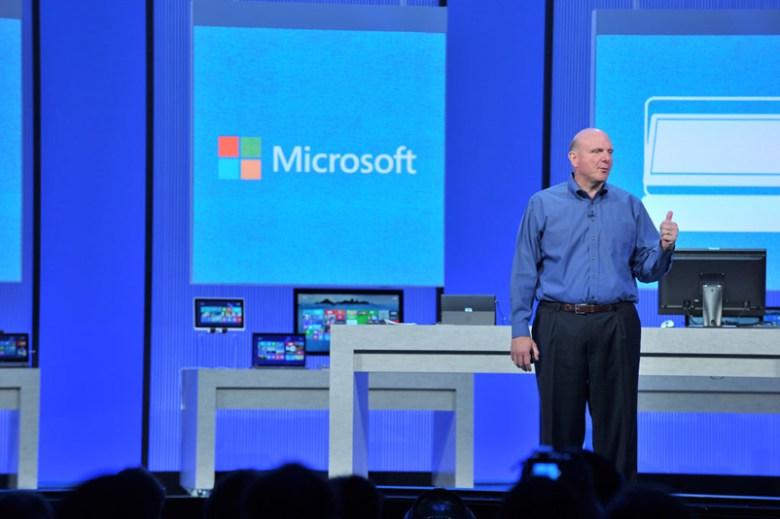 steve-ballmer-build - ¿Tiene sentido la reestructuración de Microsoft sin la salida de Steve Ballmer?