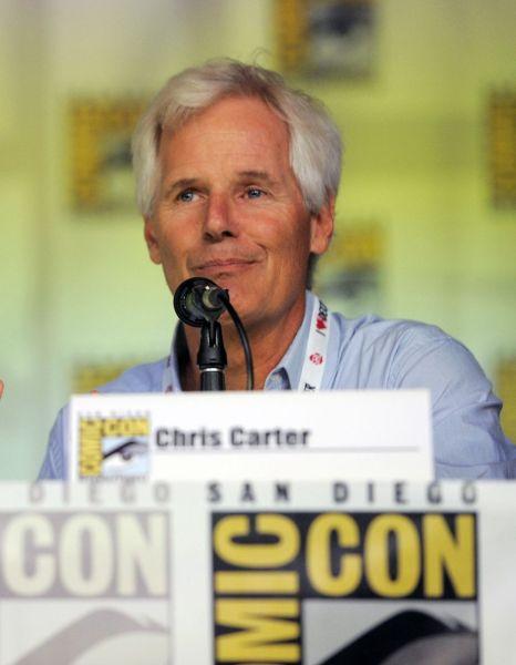 Chris Cater en el 20 aniversario de The X Files