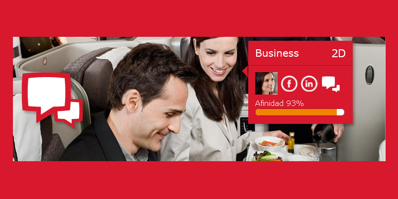 Cómo Iberia usa redes sociales para acomodar pasajeros en sus aviones