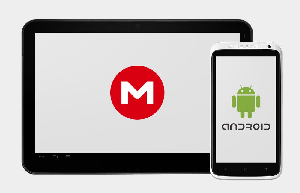 Así es la aplicación de Mega para Android