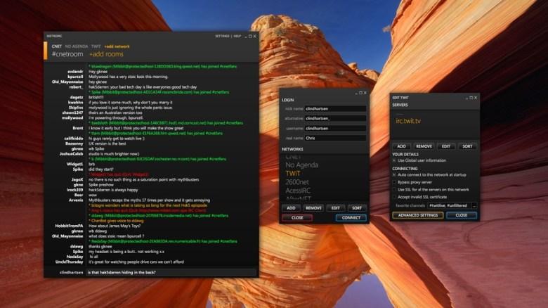IRC en Windows 8 - Historia de IRC