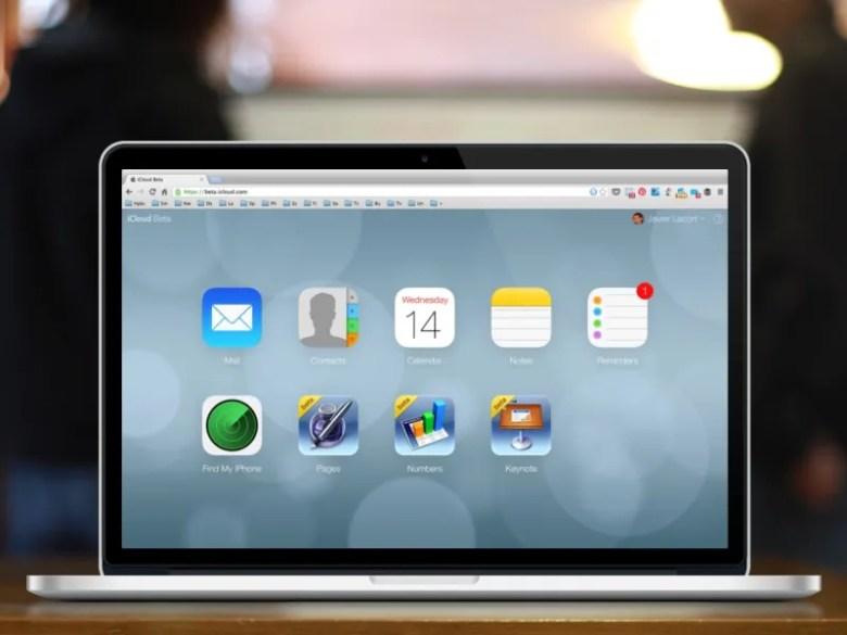 Nuevo iCloud pantalla principal - rediseño estilo ios 7 - Herramientas para sincronizar fotos entre tu smartphone y tu ordenador