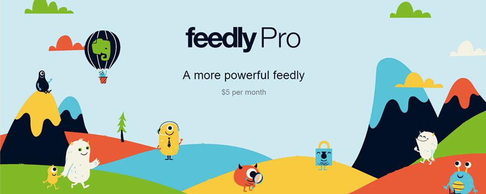 Feedly lanza una versión Pro