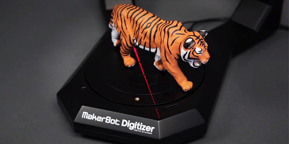 Escáner 3D de MakerBot