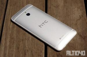 Análisis de HTC One Mini: parte trasera