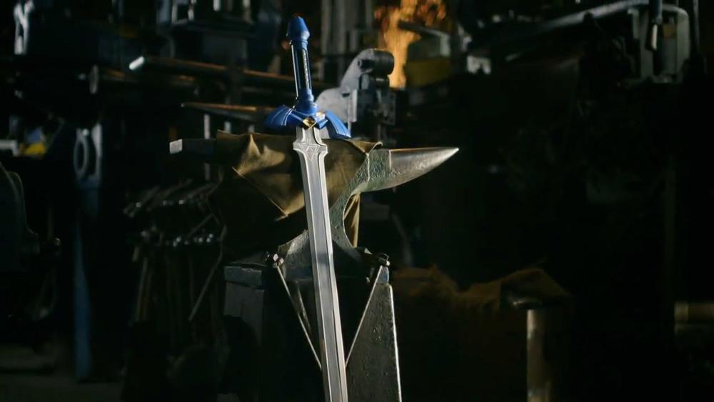 armas de videojuegos en la vida real - master sword
