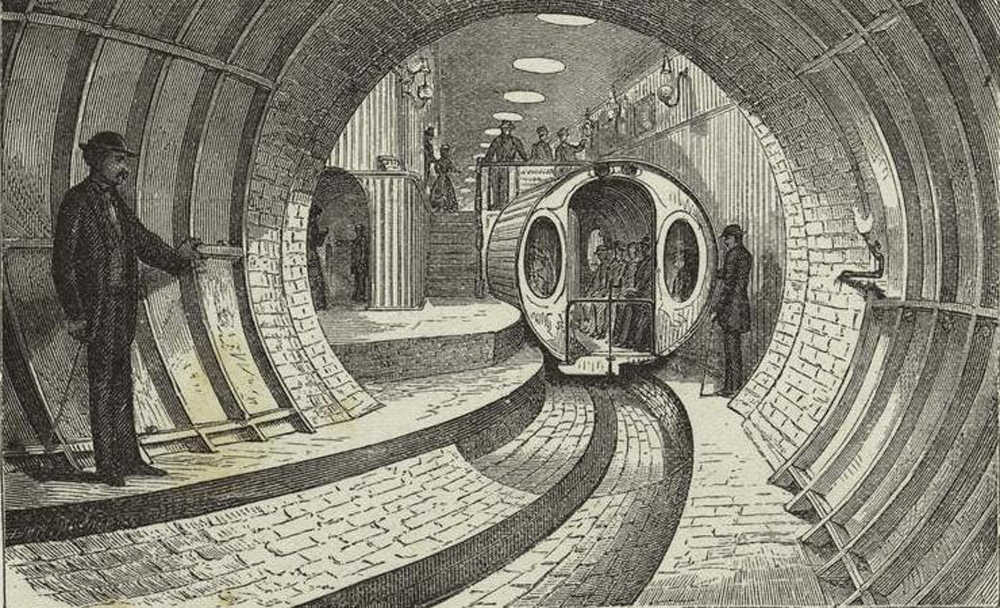 Tubo neumático