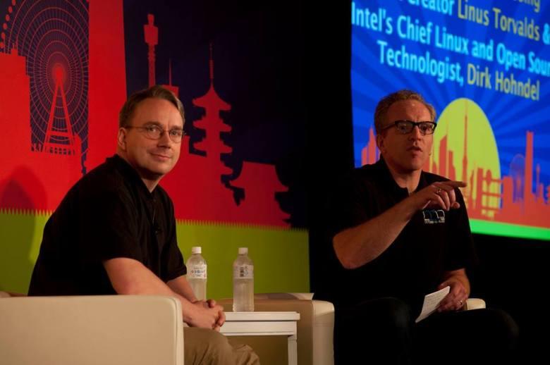 Intel CTO y Linus Torvalds - Linux