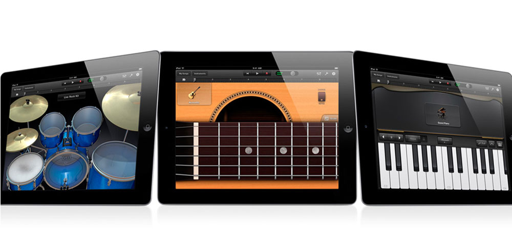 Garage Band iOS