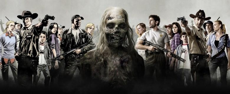 the walking dead comic tv