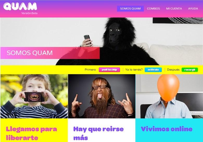 Quam web
