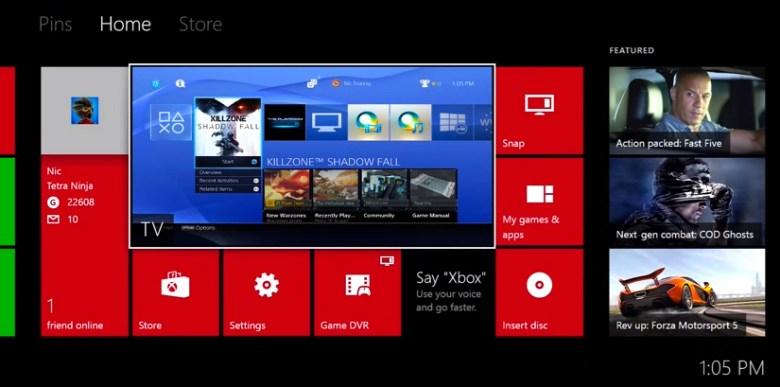 entrada HDMI de Xbox One
