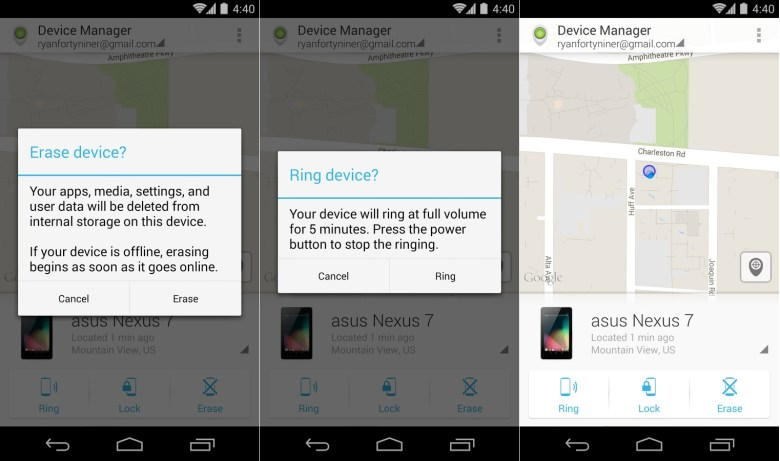 Android Device Manager para Android