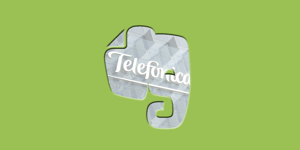 Evernote y Telefónica