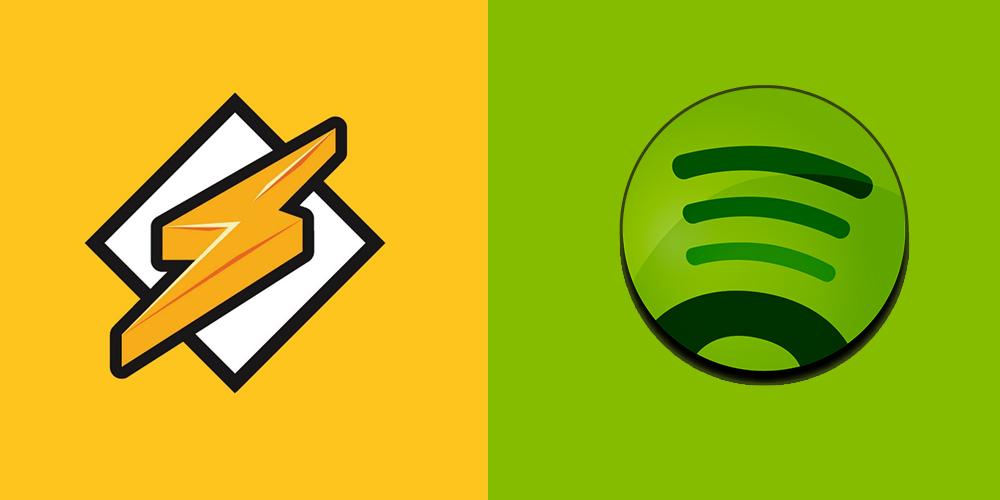 Spotify y Winamp