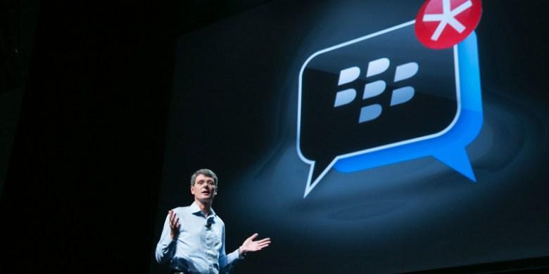 BlackBerry cancela dos teléfonos