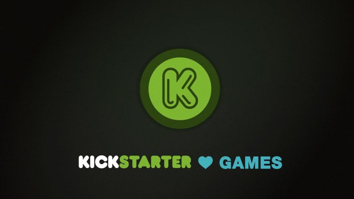kickstarter loves games