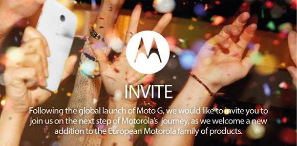 Motorola Moto X en Europa