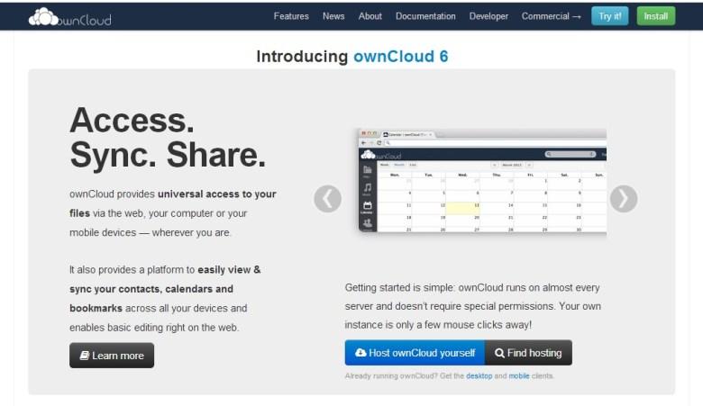 OwnCloud Alternativas a Google