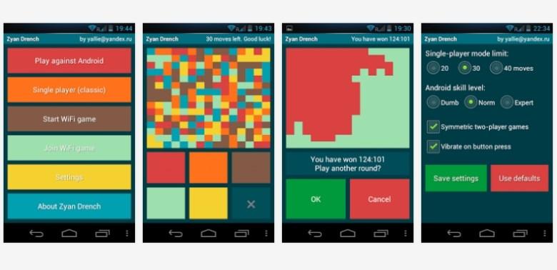 juegos de rompecabezas para android zyan drench