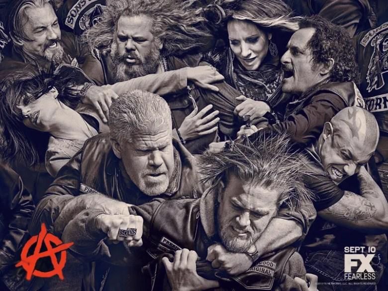 Sons of Anarchy las mejores series de tv actuales