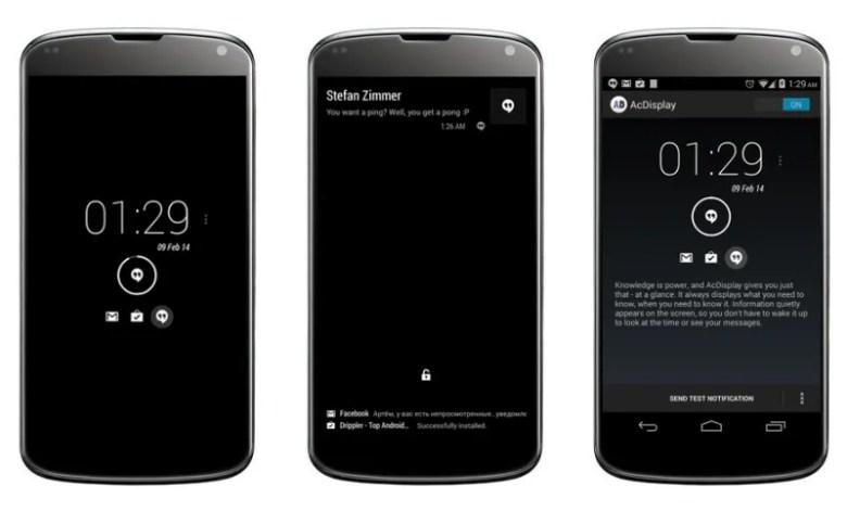 Pantalla de bloqueo en Android