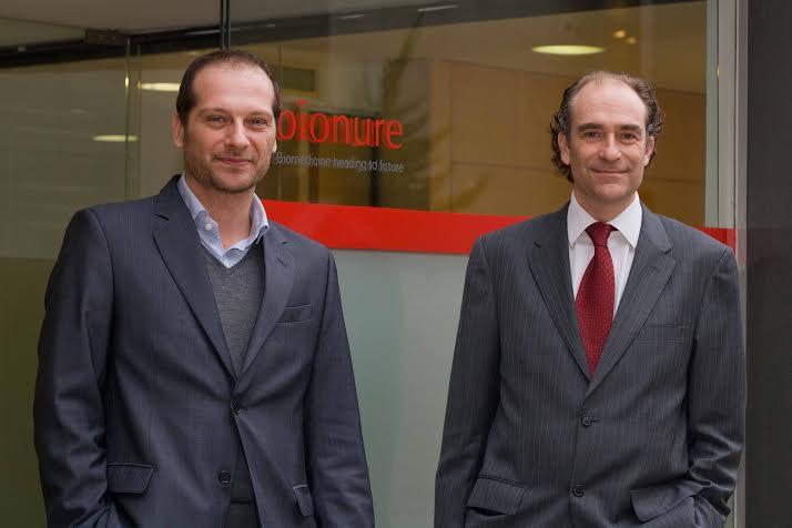 Albert Zamora y Pablo Villoslada, impulsores de la empresa biotecnológica Bionure
