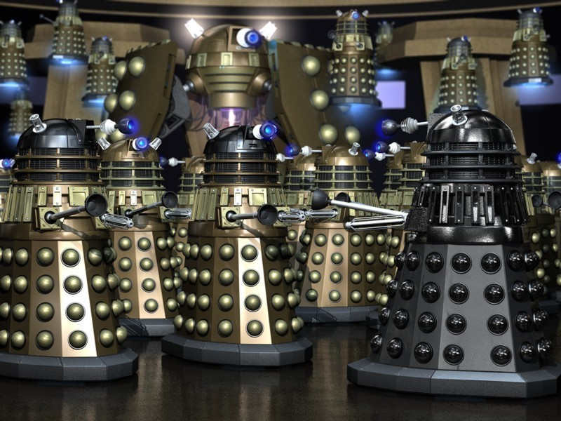 dalek pac-man doctor who