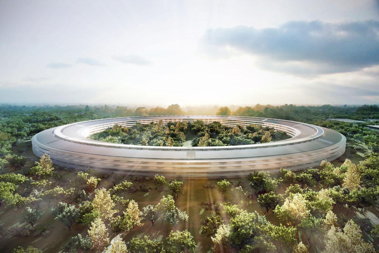 Así se diseñó el nuevo campus de Apple en Cupertino