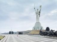 Mother of the Fatherland, Kiev, Ukraine, 203 ft, built in 1981