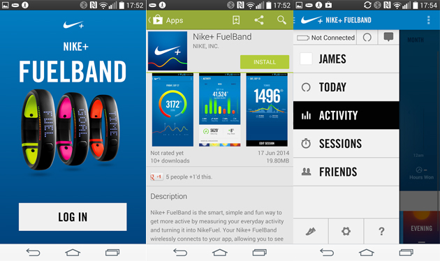 fuelband android app