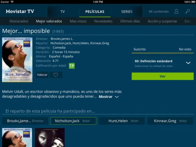 movistar tv multipantalla tablet