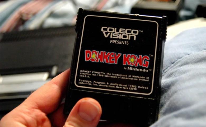 Donkey_Kong_ColecoVision_Cartridge