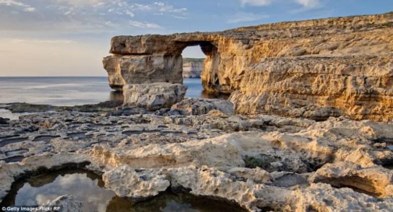 Foto: Getty // Gozo, en Malta - Locación de la boda de Daenerys y Khal Drogo