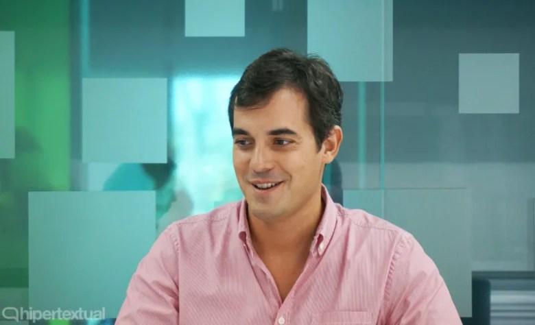 Rodrigo del Prado, uno de los fundadores de la actual bq.