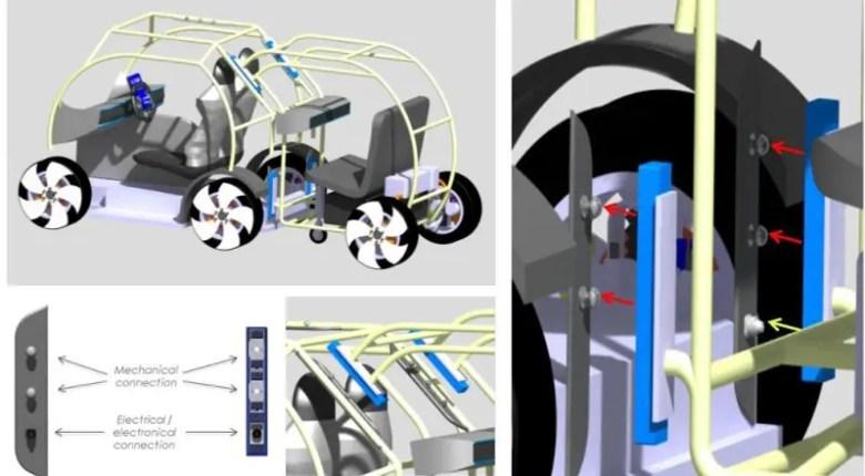 vehiculos modulares